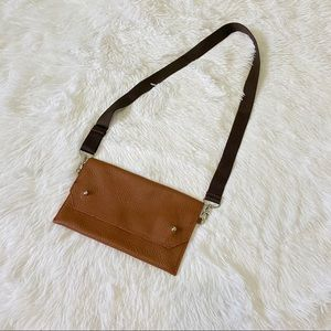 jesse & co. Bags - Jesse & Co. convertible leather belt bag in cognac